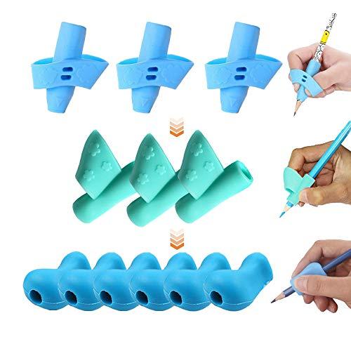 OKSANO - Juego 12 lápices agarre niños adultos