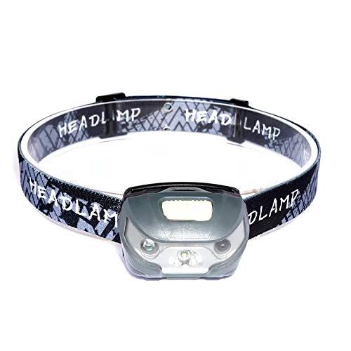 Lampe Frontale à LED | Accessoire Portable 3W pour Activités de Plein Air | Rechargeable USB | 5 Modes d'Éclairage et Orientable 60 ° | Randonnée, Running, Camping, Survie, VTT | Étanche