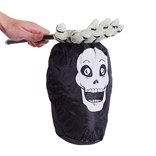 ürbis Taschen Geschenk Treat Snack Tasche Süßes oder Saures Süßigkeitentasche 52cm*28cm (Im Dunkeln Leuchten Die Kürbisse)