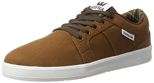 Supra Ineto, Basses homme Braun (brown-white)