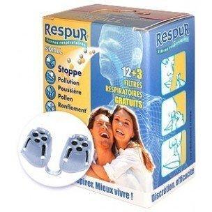 Respur filtros respiratorios Pequeños