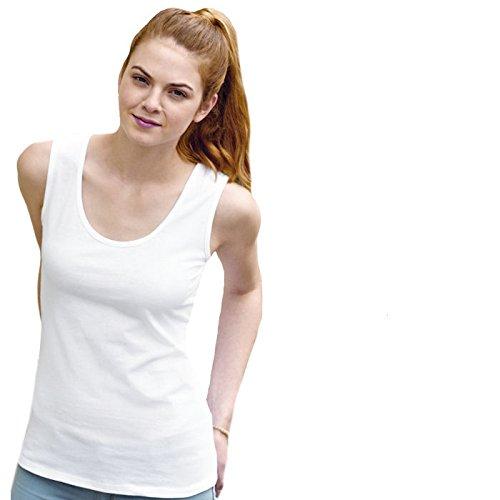 Damen Lady-Fit Vest Tank Top T-Shirt verschiedene Farben und Größen - Shirtarena Bündel