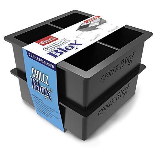 Chillz Blox-tamaño grande cubitos hielo whisky-silicona