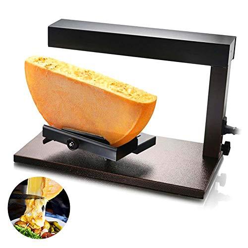 IDABAY 650W Appareil à Raclette Alpage • Grill-Raclette Suisse• Raclette à Fromage • Fromage Fondu Traditionnel •Demi meule