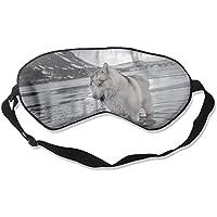 Eye Mask Eyeshade Dog In Water Sleeping Mask Blindfold Eyepatch Adjustable Head Strap preisvergleich bei billige-tabletten.eu