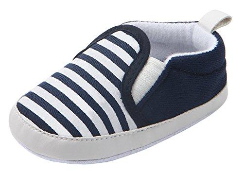 9f7b8fd198f26 Y-BOA Chaussure Bateau Mocassin Souple Enfants Fille Garçon Premier Pas  Oxford Automne Bleu Semelle