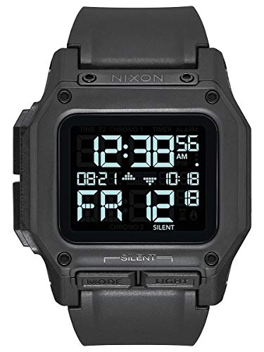 Nixon Men's Regulus Watch, 46mm, Black, One Size
