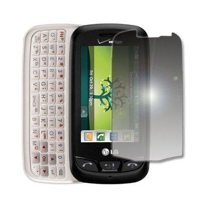 EMPIRE Mirror Screen Protector for Verizon LG Cosmos Touch VN270 (Verizon Lg Screen Protector)