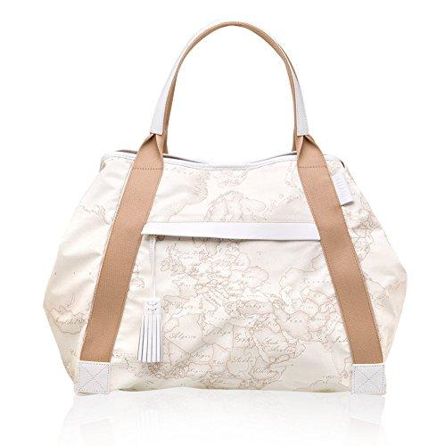 ALVIERO MARTINI shopping GG12 WS74 Couleur WHITE-900 Blanc Cassé - blanc
