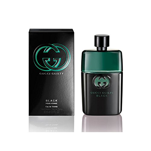 Guilty black pour homme, descrizione 90 ml spray eau de toilette