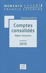 Comptes consolidés : Règles françaises