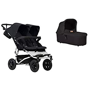 Mountain Buggy Duet Buggy V3 Double seat Buggy + 1 Baby seat - Black   6
