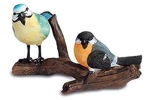 Katerina Prestige-Figura Pareja pájaros sobre Rama, na0662