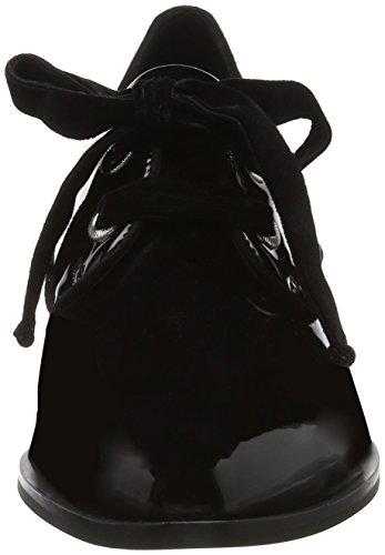 ALDO Damen Gemelli Oxfords Schwarz (Black Patent)
