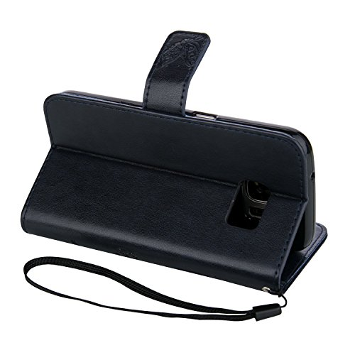 Meet de Case pour Apple iPhone 6 Plus / iphoen 6S Plus (5,5 Zoll) PU Housse, papillon print / Folio Wallet / flip étui en cuir / Pouch / Case / Holster / Wallet Style de Coque pour téléphone portable  noir