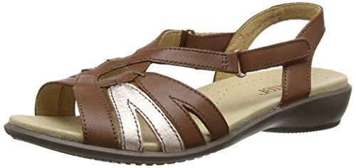 hotter women's flare extra wide sling back sandals