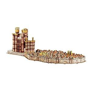 Juego de Tronos- Puzles Game of Thrones Puzzle 4D Desembarco del Rey, Multicolor (Eleven Force S.L. 10032) 4