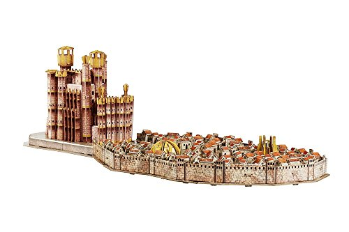 4D Cityscape 51003 - Game Of Thrones/King's Landing 3D Puzzle