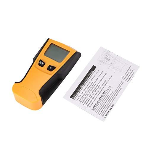 TH210 Digital Handheld Lcd Display Wand Stud Center Scanner Holz Metall AC Live Wire Kabel Warnung Detektor Finder (Live-wire Kabel Instrument)