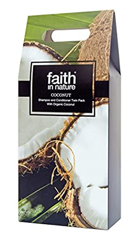 Faith In Nature Coconut Twin Pack - Shampoo and Conditioner (2 x 250ml)