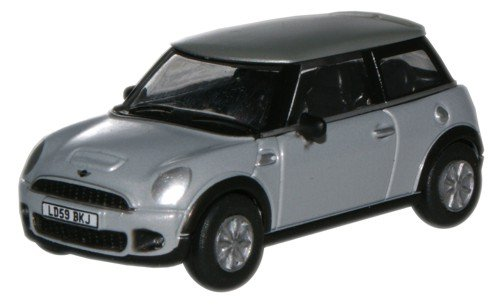 oxford-diecast-76nmn004-pure-silver-mini-new