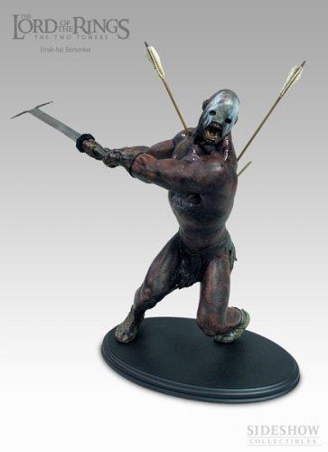 Sideshow Uruk Hai Berserker Polystone Statue Herr der Ringe Lord of the Rings WETA LOTR (Sideshow-herr Der Ringe)