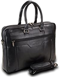 Easies 15inch Black Foam File FF 1054, Synthetic Leather Bag