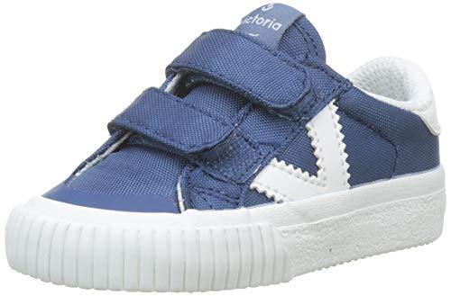 Victoria Tribu Velcros Nylon, Zapatillas Unisex bebé, Azul 36, 22 EU