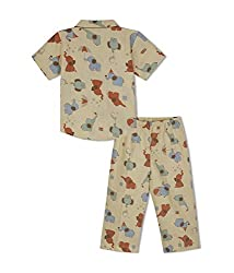 GreenApple Elephant Boys Nightsuit (5-6 Years)