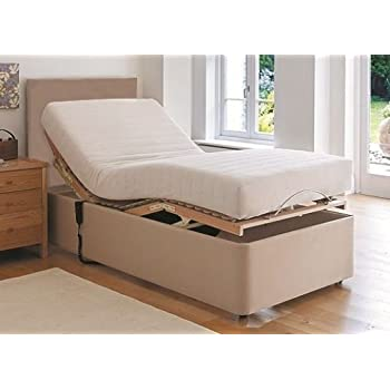 3ft single electric adjustable bed with memory foam for Good quality single beds