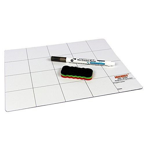 JAKEMY jm-z0925cm x 20cm Magnet Project Matte mit Marker Pen kompatibel für iPhone/Samsung Reparatur Werkzeuge - Mat 4 Iphone Schraube