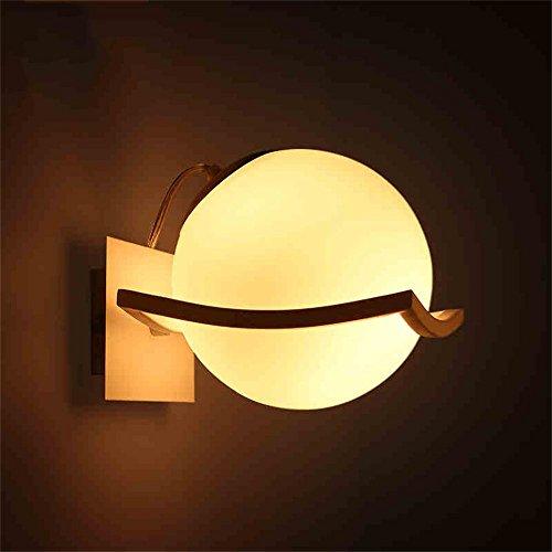 ERRU- Mode lampe murale lampe de mur du salon créatif chambre lampe de chevet moderne lampe de mur LED simple, balcon en fer forgé lumières couloir couloir [Efficacité énergétique: A +] Belles lampes