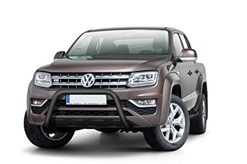 Frontschutzbügel in schwarz passend für Volkswagen Amarok V6 Baujahr ab 2016