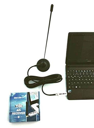 SEANEXX AIS-Komplettset AIS-Empfänger RX200 + Magnetfußantenne