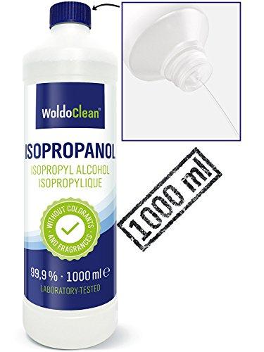 Isopropanol 99,9% Isopropylalkohol 2-Propanol IPA Reinigungsmittel inkl. Ausgießer - 1.000ml...