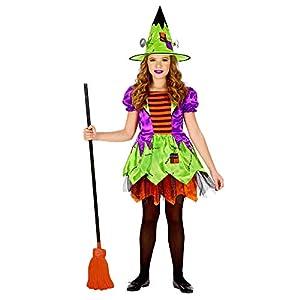 WIDMANN-Strega - Disfraz de monstruo para niños, multicolor, (104 cm/2 - 3 años), 01639