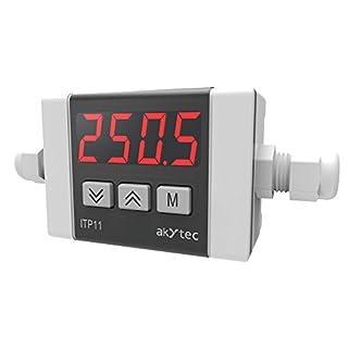 akYtec ITP11-R-W Prozessanzeige 4-20 mA, Rot