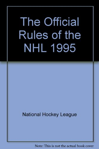 The Official Rules of the NHL 1995