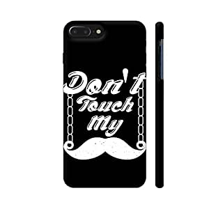 Colorpur iPhone 7 Plus Cover - Don't Touch My Moustache Printed Back Case