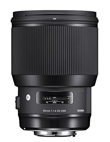 Sigma HSM ART Obiettivo 85 mm-F/1.4-AF a DG HSM, Attacco Nikon, Nero
