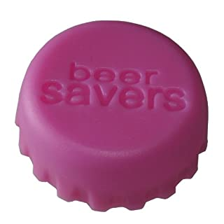 smartec24® Silikon Kronkorkenverschluss pink. Silikon Verschlusskappe für alle Flaschenhälse mit Kronkorkenverschluss