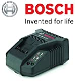 Bosch Genuine Rotak AL3620CV Battery Charger (UK/GB Version) (To Fit & Charge: All Bosch Green 36V-Li Batteries used on Rotak Cordless Lawnmowers & Bosch Garden Tools) c/w STANLEY KeyTape (image shown) & Cadbury Chocolate Bar