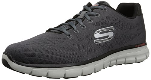 competitive price 23f5d a7ce0 Skechers Men s Synergy- Fine-Tune Multisport Outdoor Shoes, Grey (ccbk), 6  UK 39 1 2 EU