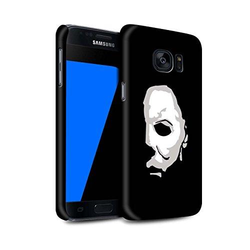 Stuff4® Matte Snap-On Hülle/Case für Samsung Galaxy S7/G930 / Michael Myers Inspiriert Kunst Muster/Grusel Filmkunst Kollektion