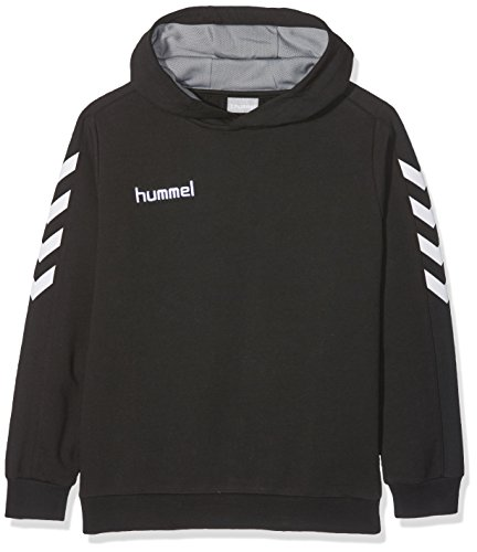 Hummel Mädchen Core Cotton Hoodie Sweatshirt, Black, S