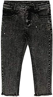 GULLIVER Pantalones Vaqueros para Niño Color Gris, Algodón, Casual Jeans para 3-8 Años