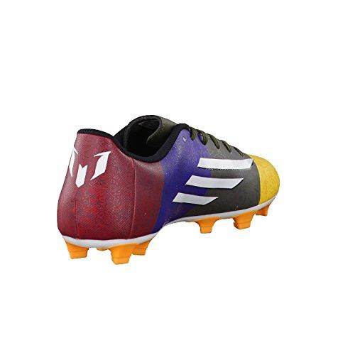 adidas Herren Fussballschuhe Fußballschuhe Nockenschuhe F5 FG Messi blau / grün / gelb