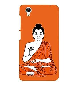 99sublimation buddha peace solemn silence gouthama meditation Designer Back Case Cover for Vivo Y31 :: VivoY31L