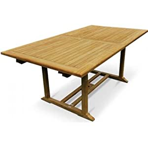 Table de jardin en Teck Grade A