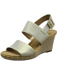 cf28f8e69b6 Amazon.co.uk: Multicolour - Sandals / Women's Shoes: Shoes & Bags